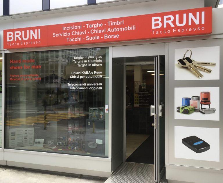 Bruni tacco espresso incisioni Lugano